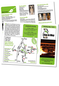 Clay in May Brochure