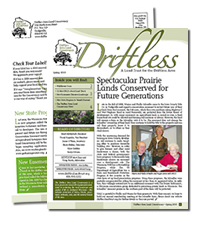 Driftless Area, Newsletter Sample