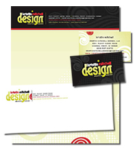 Kristin Mitchell Design, Stationery Sample