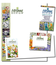 McKenna Design, Stationery Sample